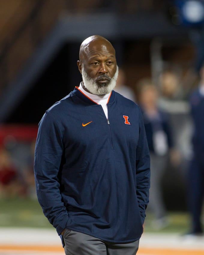 No. 11: Lovie Smith, Illinois.