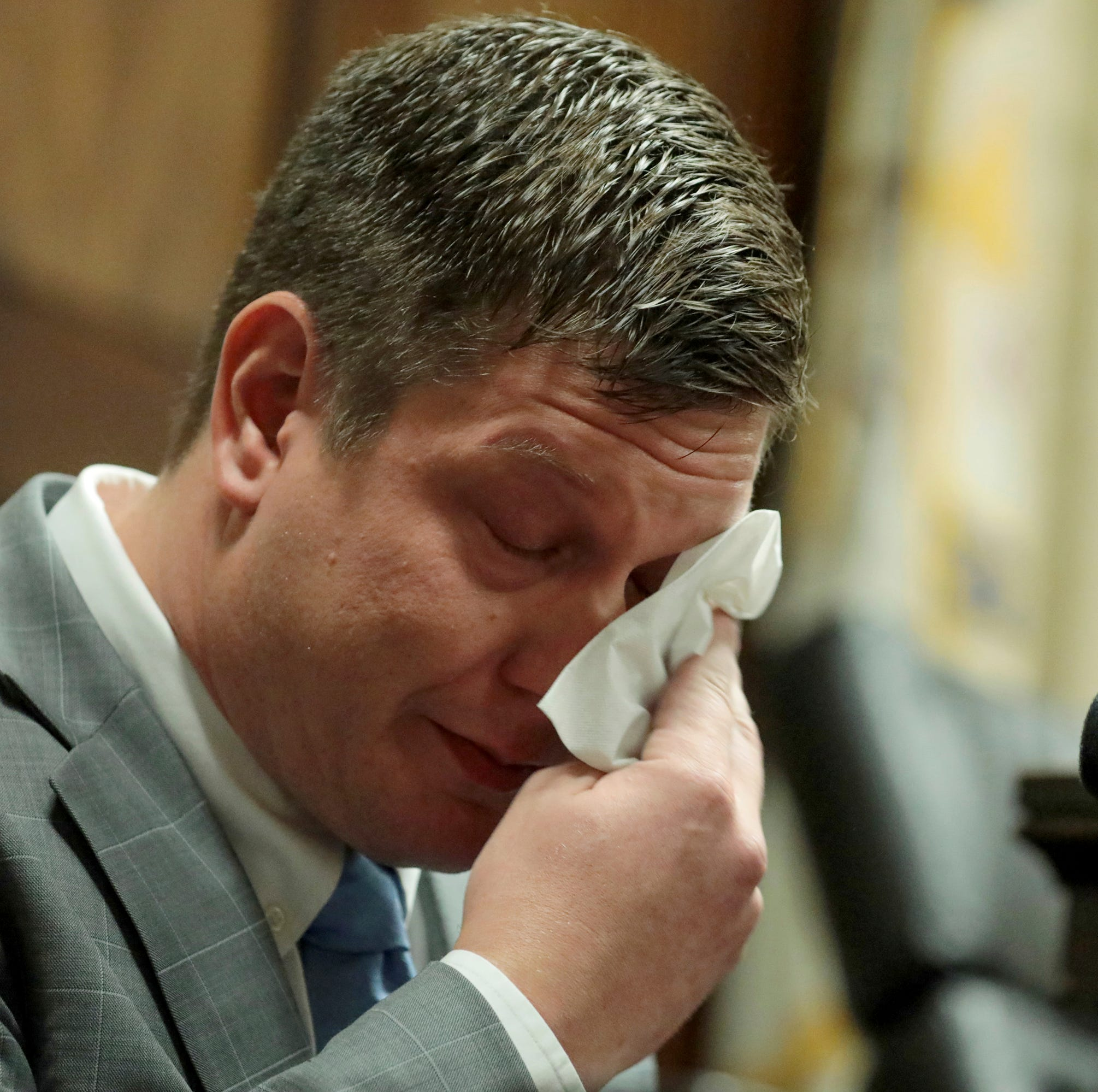 Chicago cop on trial for Laquan McDonald killing testifies: 'His eyes were bugging out'
