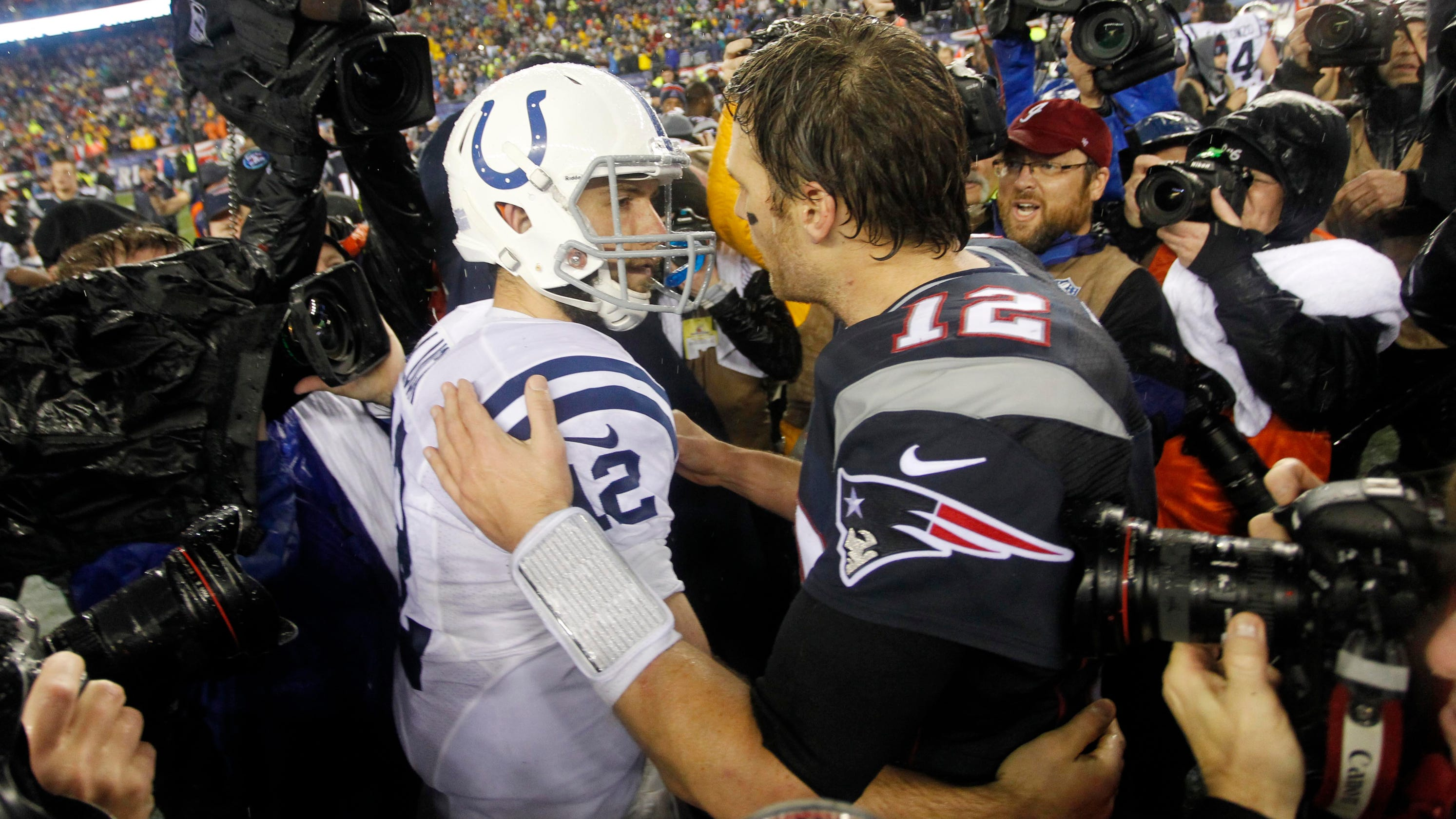 4165b84dbd3 Indianapolis Colts-New England Patriots rivalry turned into a joke