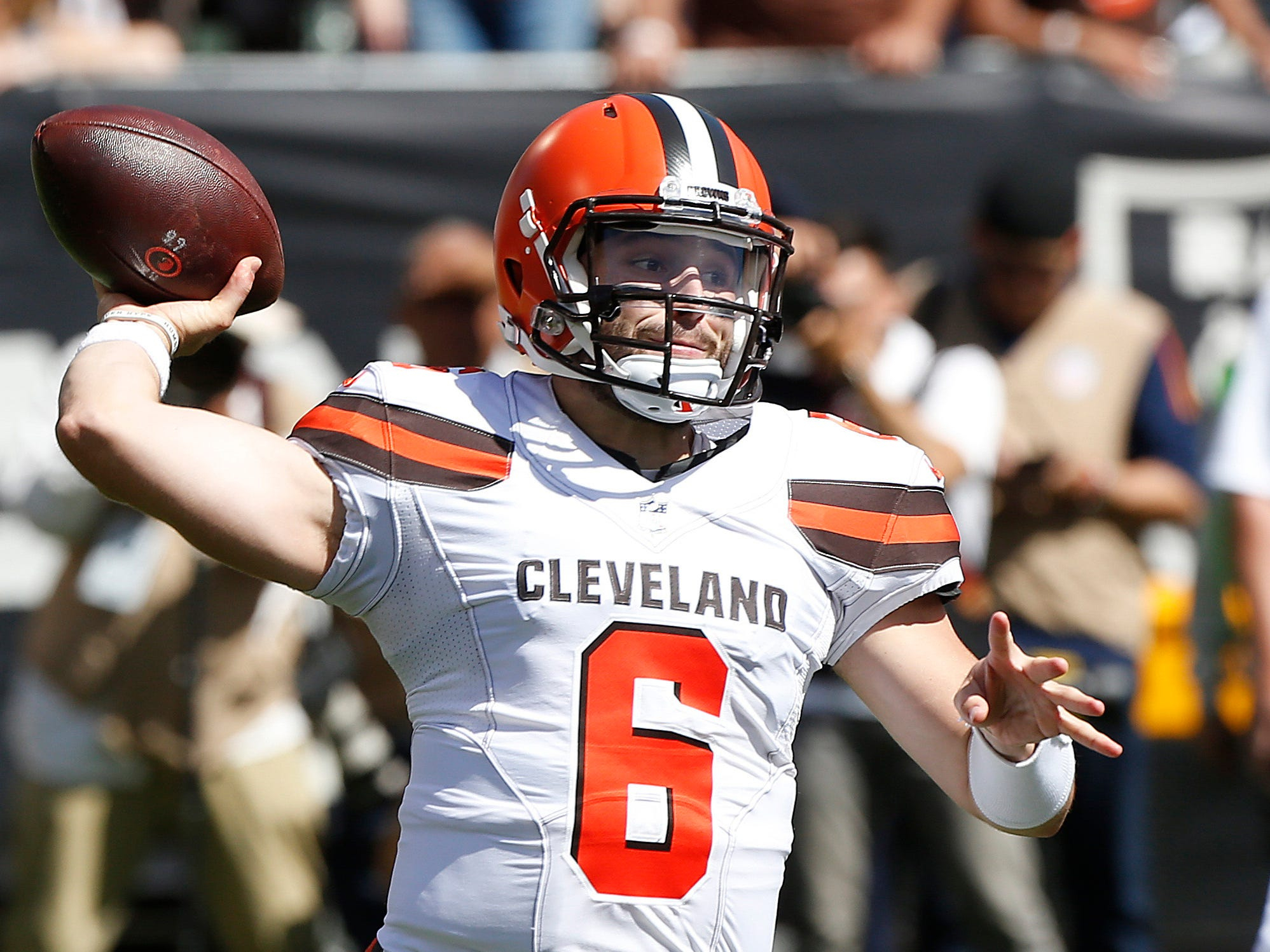 24. Browns (14): Anti-Tyrod — Baker Mayfield sparked offense to season-high 42 points, 487 yards. Anti-Tyrod — Baker Mayfield committed four turnovers.