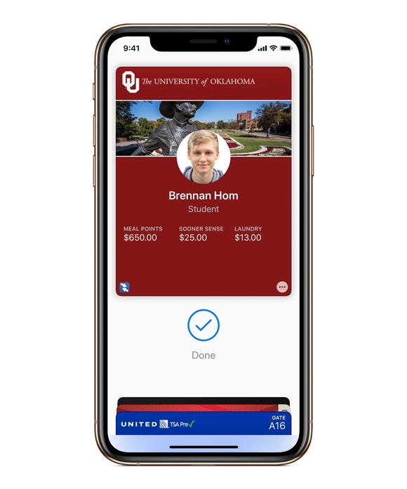 Your iPhone or Apple Watch can become your student ID.