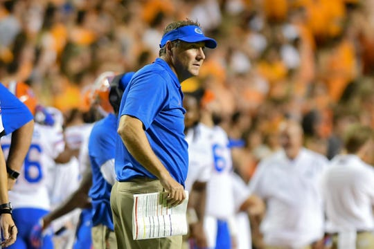 No. 8: Dan Mullen, Florida.
