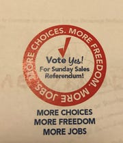 The Anderson Area Chamber of Commerce is urging voters to approve Sunday alcohol sales in a Nov. 6 referendum.