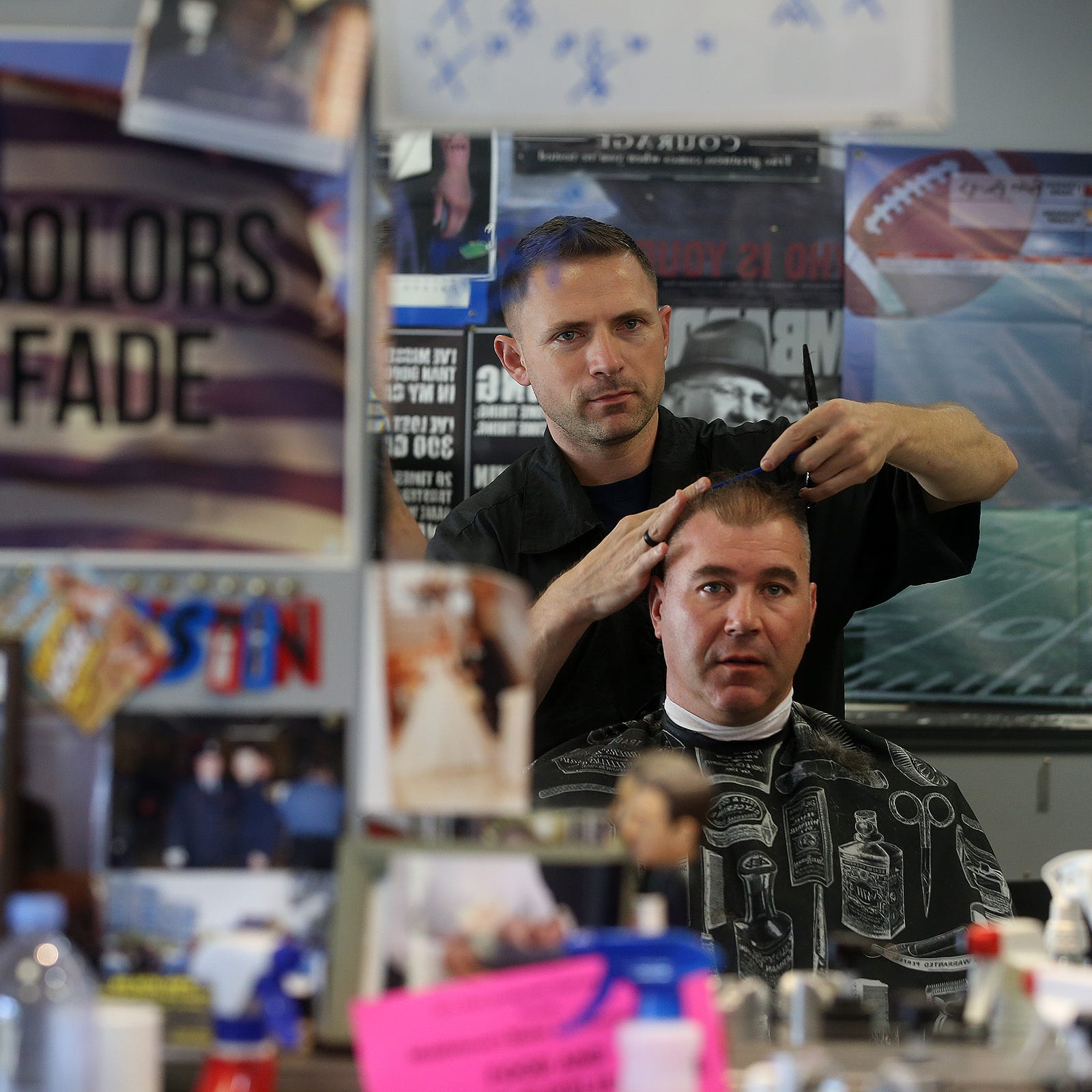 It took some swagger to start Middletown's Swagger Barbershop