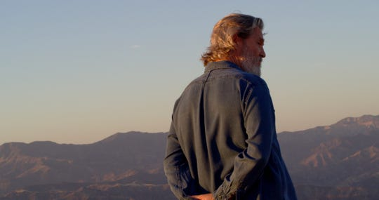 "Jeff Bridges, seen in the documentary ""Living in the Future's Past."""