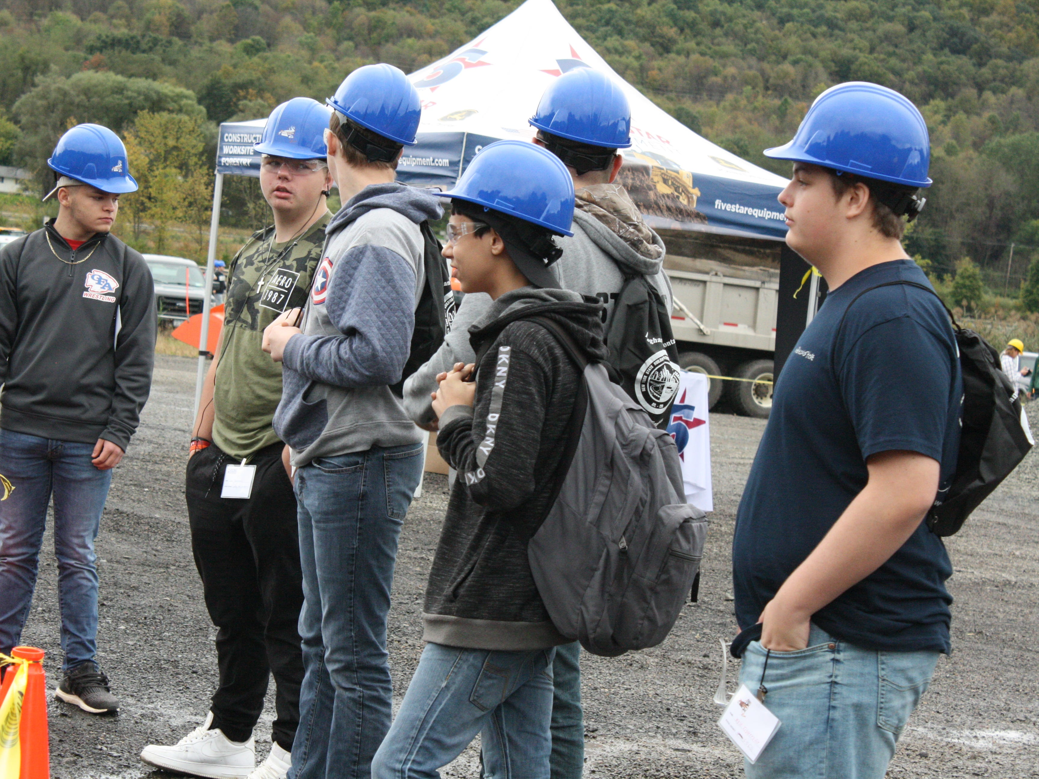 The annual Construction & Technology Career Day was held at the Broome County Highway Department in Chenango Bridge Wednesday morning.