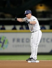Kyle Seager didn't have a lot of thumbs-up moments during his 2018 season.