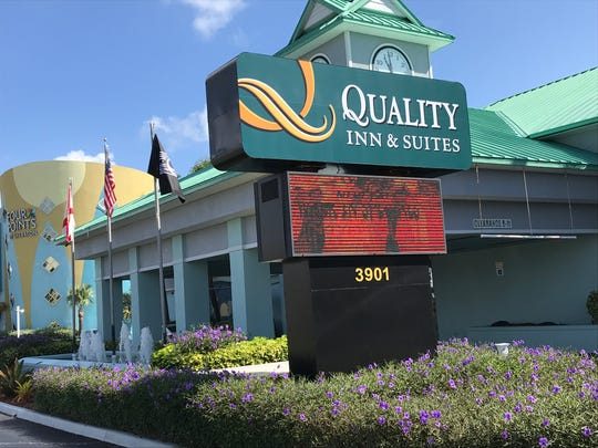 2018 File photo of Quality Inn & Suites in Cocoa Beach.