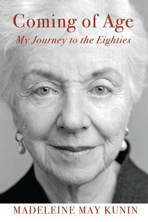 """Former Vermont Gov. Madeleine May Kunin released her latest memoir, """"Coming of Age: My Journey to the Eighties,"""" on Oct. 2."""