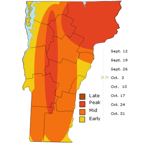Vermont foliage: Tour Essex County for early October leaf peeping