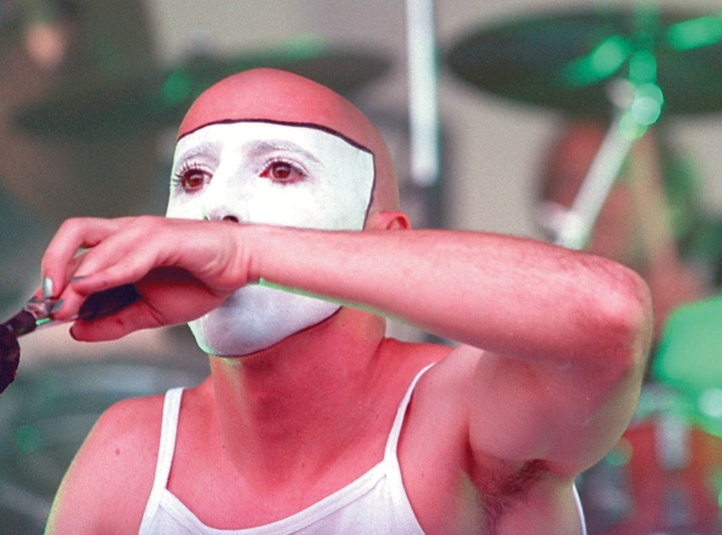 Tool plays at Lollapalooza at Texas Sky Festival Park in Corpus Christi on Aug. 3,1 997.