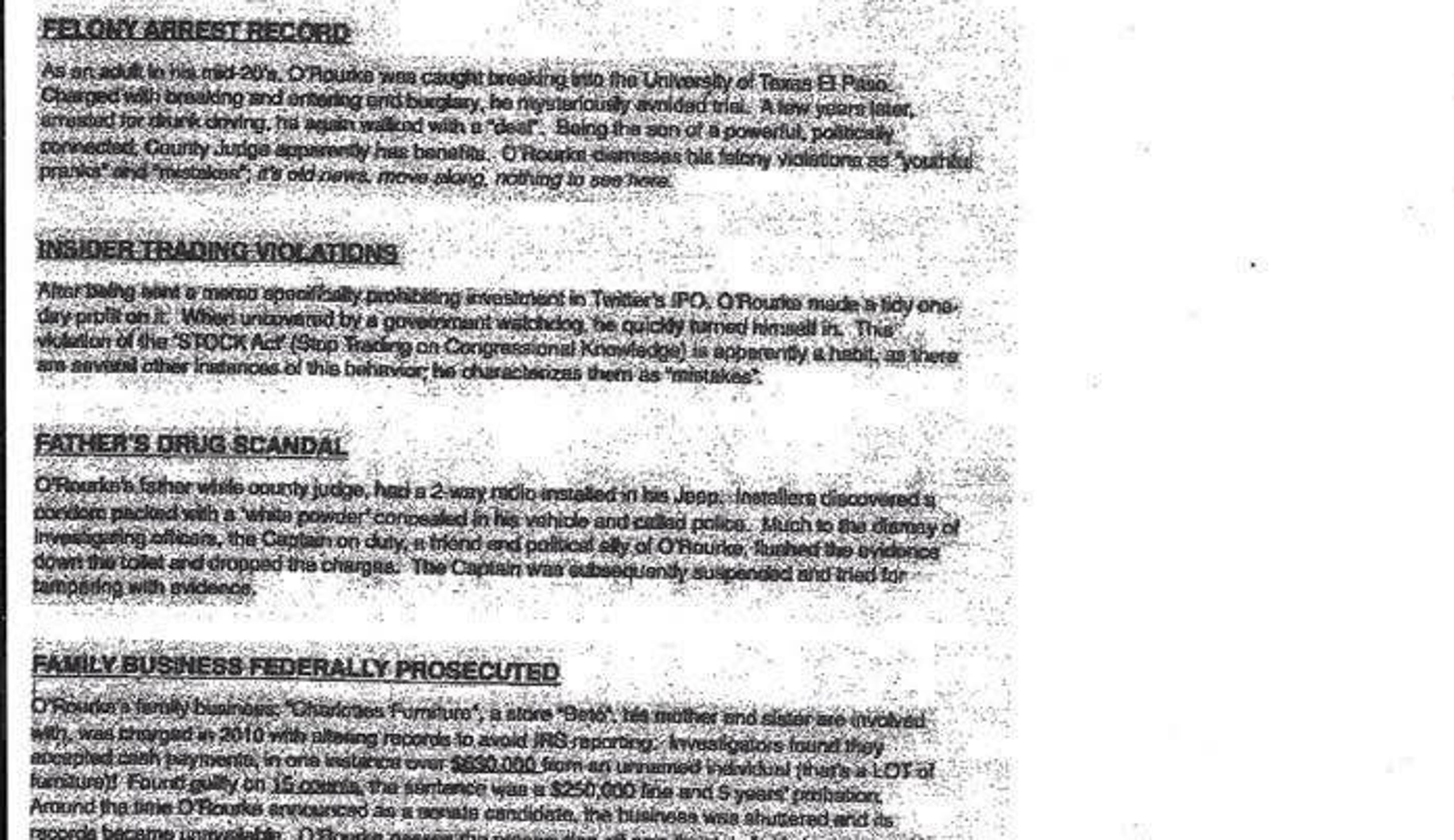 Bogus Letter Warns Of Fines For Posting Signs Backing Beto