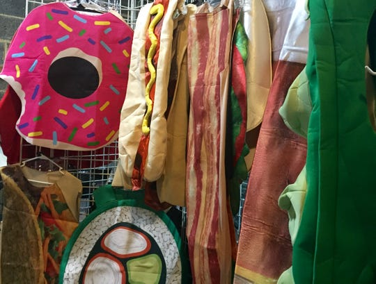 Need food for thought for your Halloween costume? Look no further than the Halloween Costume Outlet in Runnemede.
