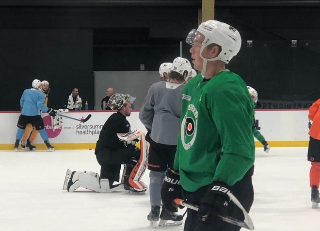 Mikhail Vorobyev is the Flyers' only rookie to start the season. His addition is in part why the team has raised its expectations.