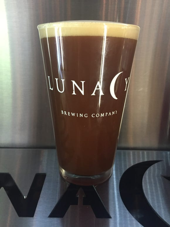Papal Pumpkin Brown Ale  with Chai is just one of the seasonal special brews Lunacy will have on tap at Oktoberfest.