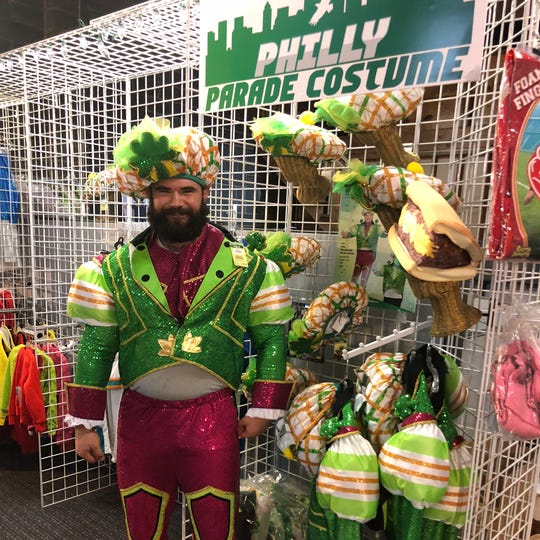 Rasta Imposta is the exclusive manufacturer of the Philly parade costume that immortalizes Jason Kelce's colorful outfit.