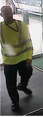 Anybody with information about this suspect in two robberies is urged to call Cherry Hill police.