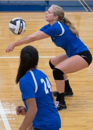 Chillicothe volleyball fell to Logan in three sets on Tuesday in a Division-I sectional semifinal match.