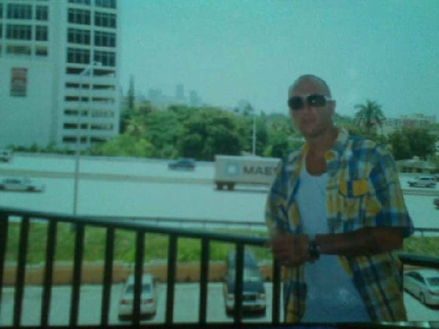 Brian Baker was fatally shot Monday by Orlando Police at a hospital. Earlier, he'd been searched for weapons by hospital staff.