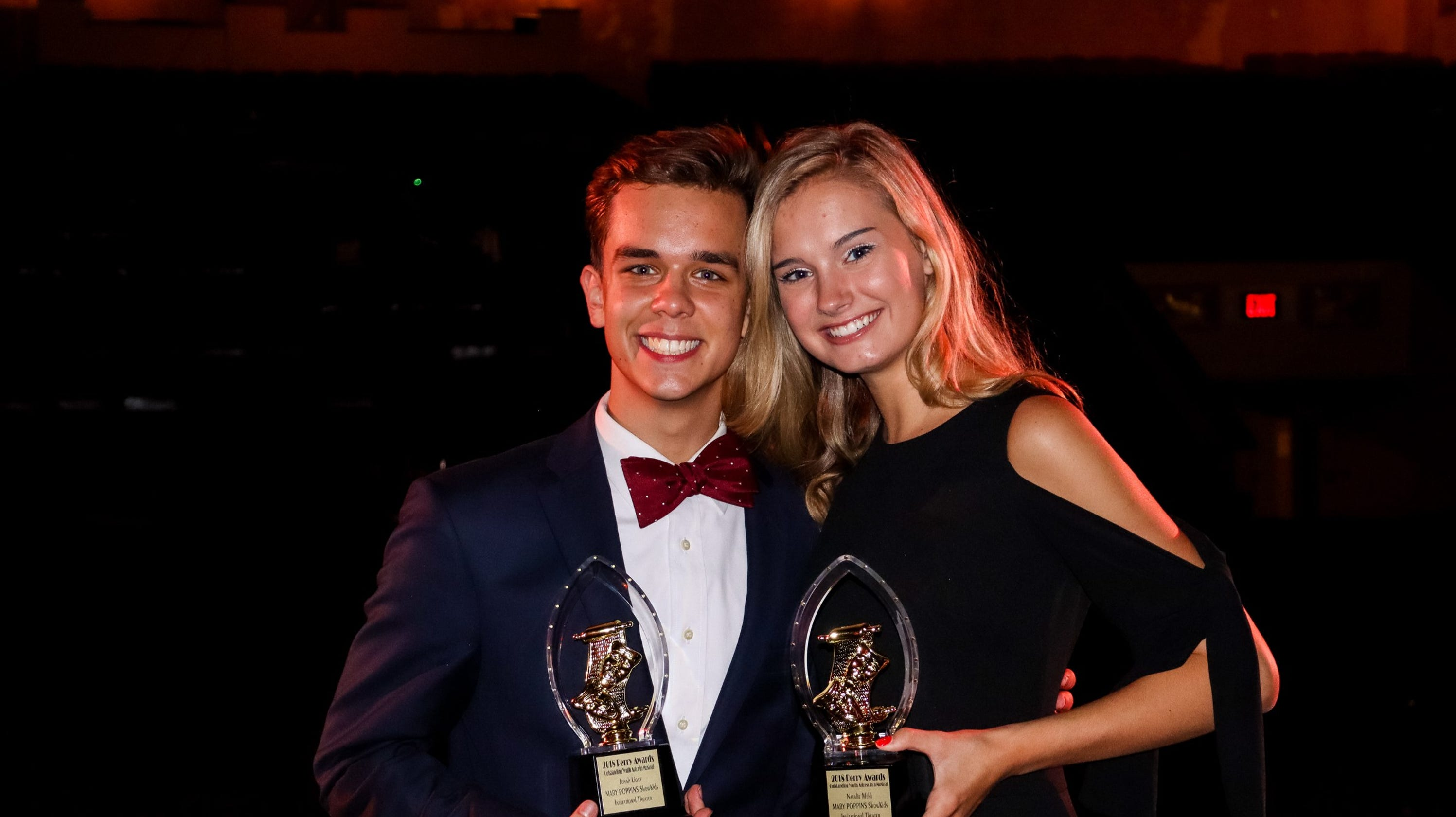Student News Showkids Actors Honored With Njact Perry Awards For