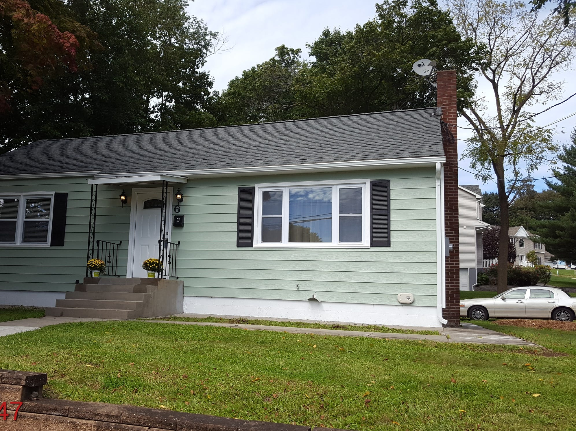 This two-bedroom ranch is completely renovated and surprisingly spacious. It's offered at $229,900.