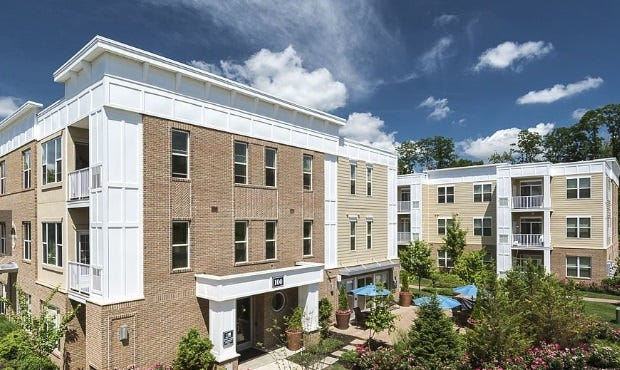 Woodmont Square, an apartment complex at 100 Bellis Court, off Route 202/206 in Bridgewater, was sold recently for $32.55 million and renamed Bridgewater Square.