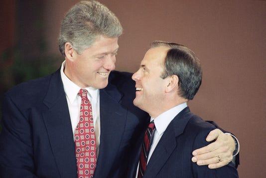 Bill Clinton Thomas Mclarty