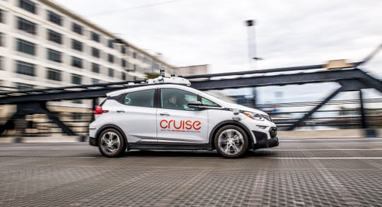 General Motors and Honda have announced a partnership to develop an autonomous vehicle for Cruise. Cruise Automation Generation 2 Bolt EV AV self-driving technology on the streets of San Francisco in November 2017.