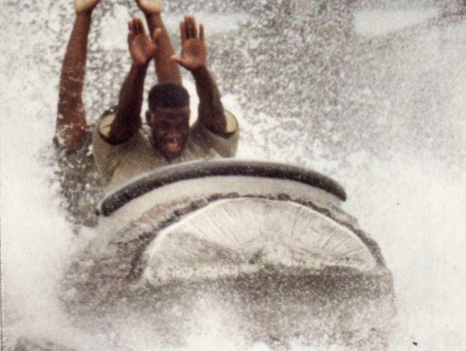 The Log Flume ride makes quite a splash with Boblo Island visitors.