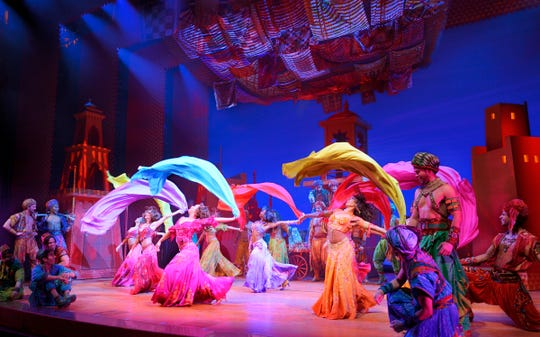 """""""Disney's Aladdin"""" lands at the Orpheum on Feb. 26, 2020 and runs through March 8, 2020."""