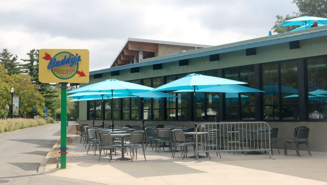 Buddy's Pizza will open a 5,200-square-foot restaurant that will seat 163 guests at the Detroit Zoo in Royal Oak on Thursday, Oct. 4, 2018.