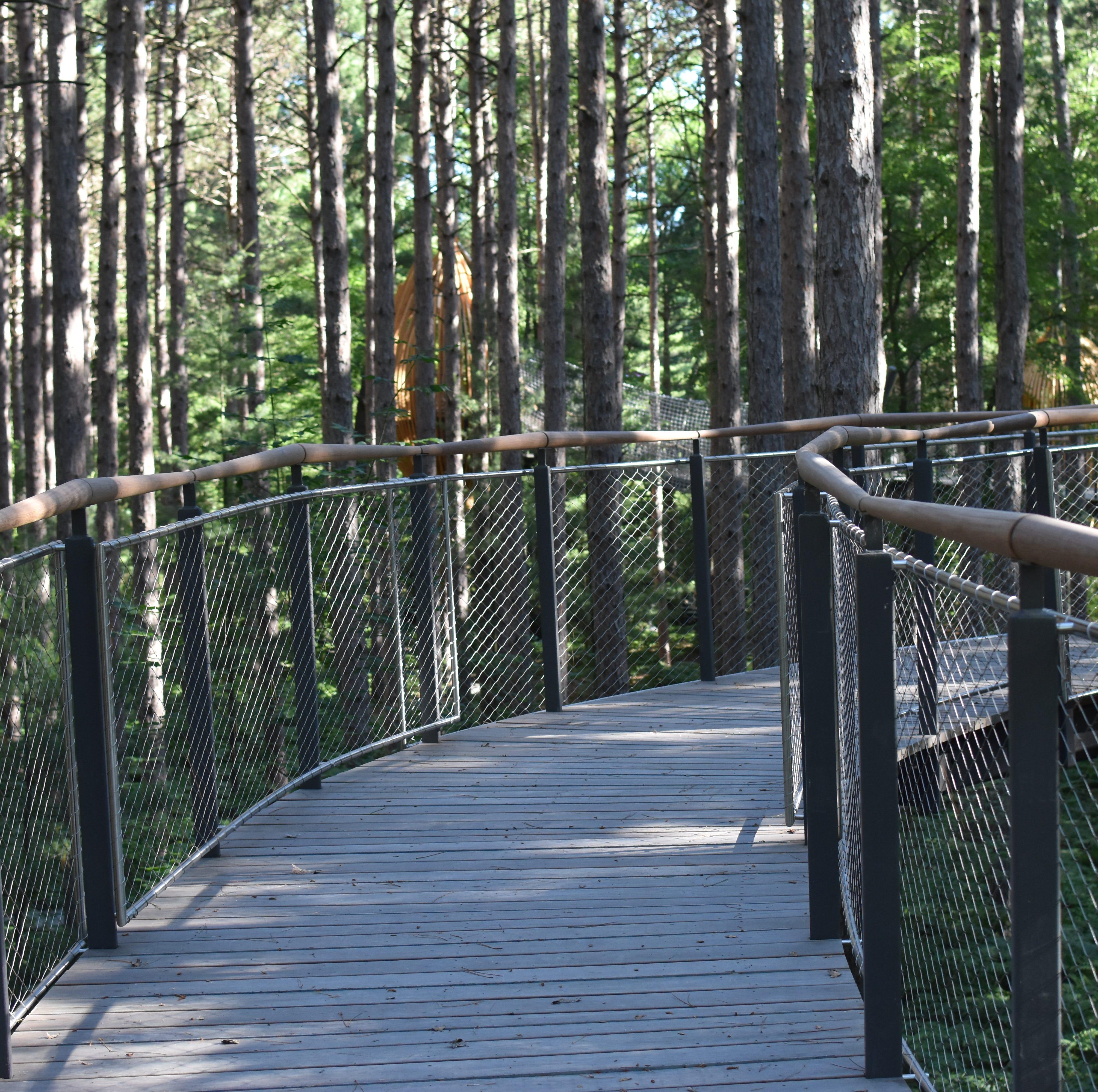 America's longest canopy walk opens in Michigan this weekend