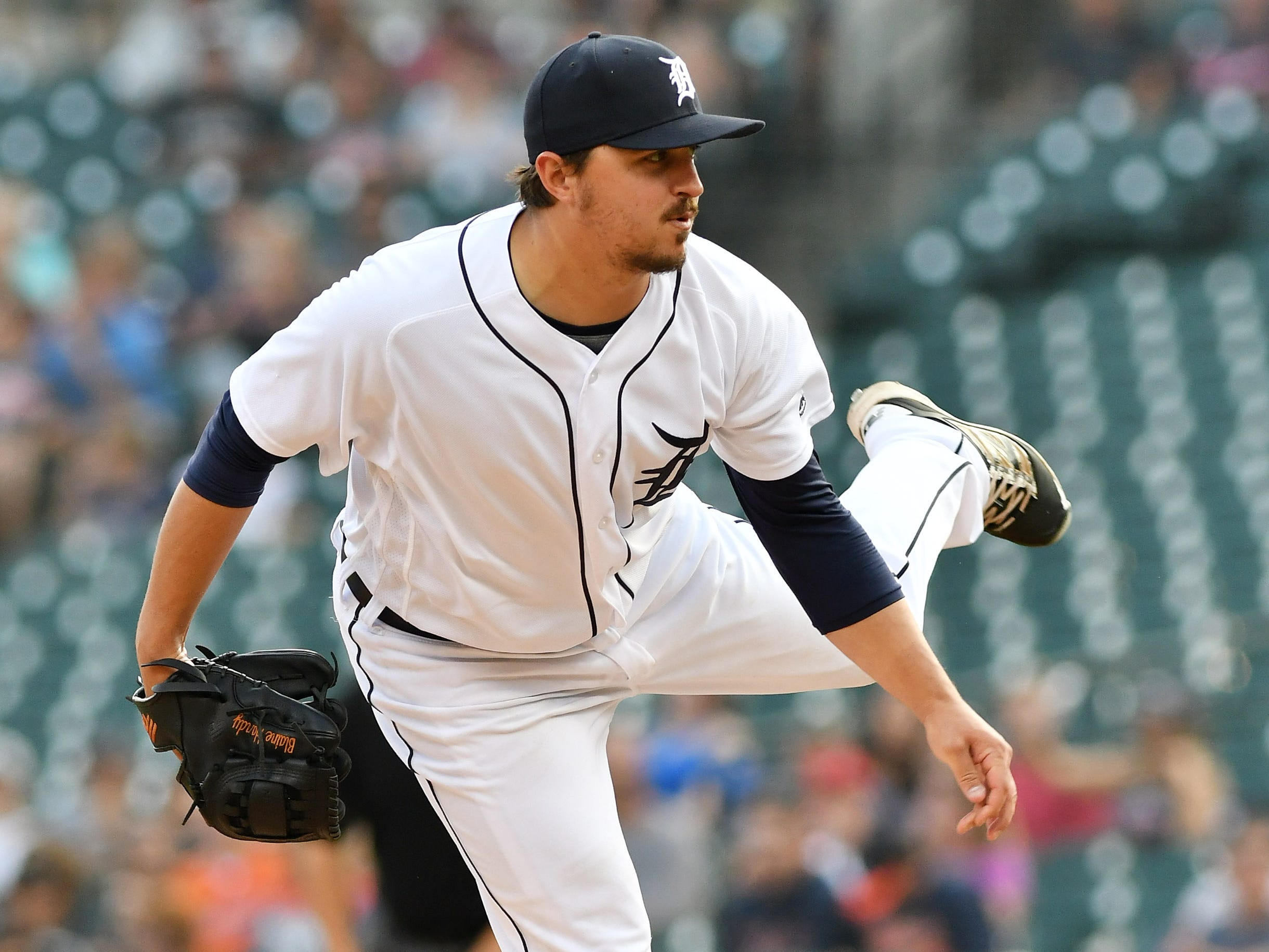 Blaine Hardy (4-5, 3.56 1.17): He's made himself a valuable versatile asset and it's hard to imagine the Tigers won't sign him back for 2019. After working his way off the scrap heap (he went unclaimed after being waived), he made 13 mostly solid starts. Then he went uncomplainingly back to the bullpen and allowed just two runs in 18.1 innings with 19 strikeouts. He can be effective as a starter, long reliever and situational lefty. The concern continues to be his elbow, which put him on the shelf toward the end of the season.   Mid-term grade: B Second-half grade: B Final grade: B