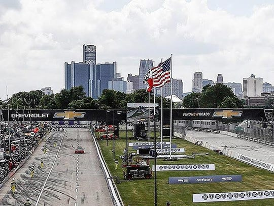 The Chevrolet Detroit Grand Prix is still set to take place as scheduled for now.