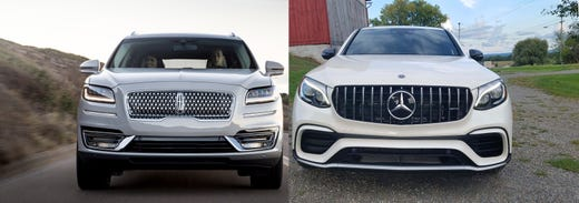 Payne Lincoln Nautilus Vs Merc Amg Glc Suv Bookends