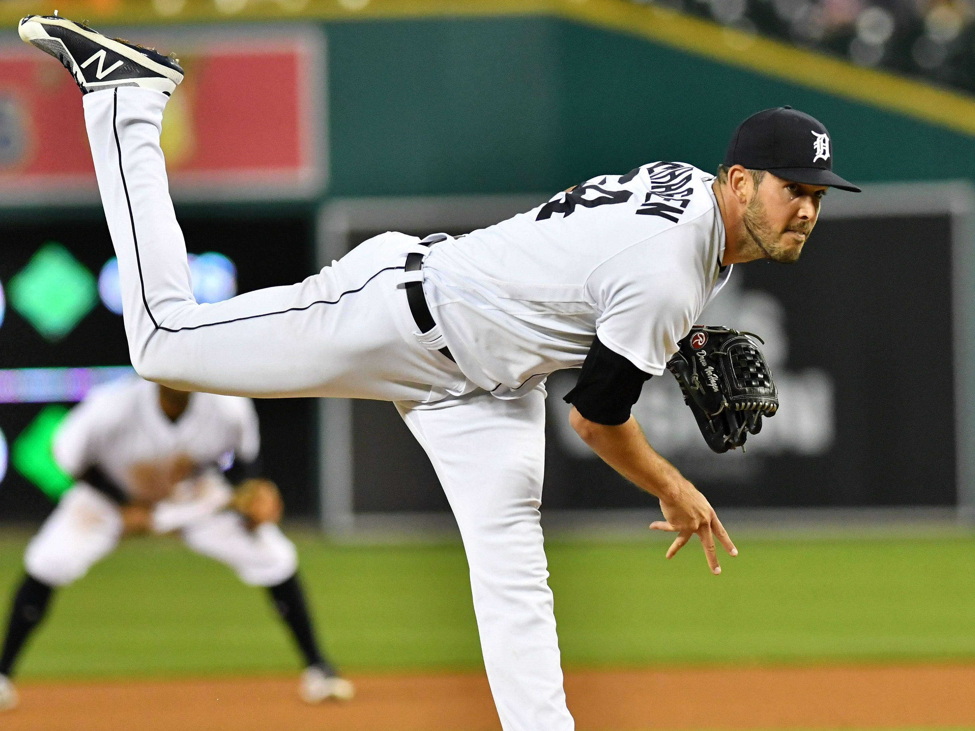 Drew VerHagen (3-3, 4.63, 1.15): On June 19 he lost a throw in the lights in Cincinnati and it broke his nose. At that point, he'd already been DFA'd, outrighted to Toledo and re-purchased by the Tigers. His ERA at that point was over 9, and opponents were hitting .287 and slugging .507. He came back on July 9 a different pitcher. In his final 37 innings over 27 outings, he allowed 10 runs, dropping his ERA under 5 and opponent hit .191 and slugged .272. This is one of the big success stories of 2018.  Mid-term grade: D Second-half grade: B-plus Final Grade: B-minus