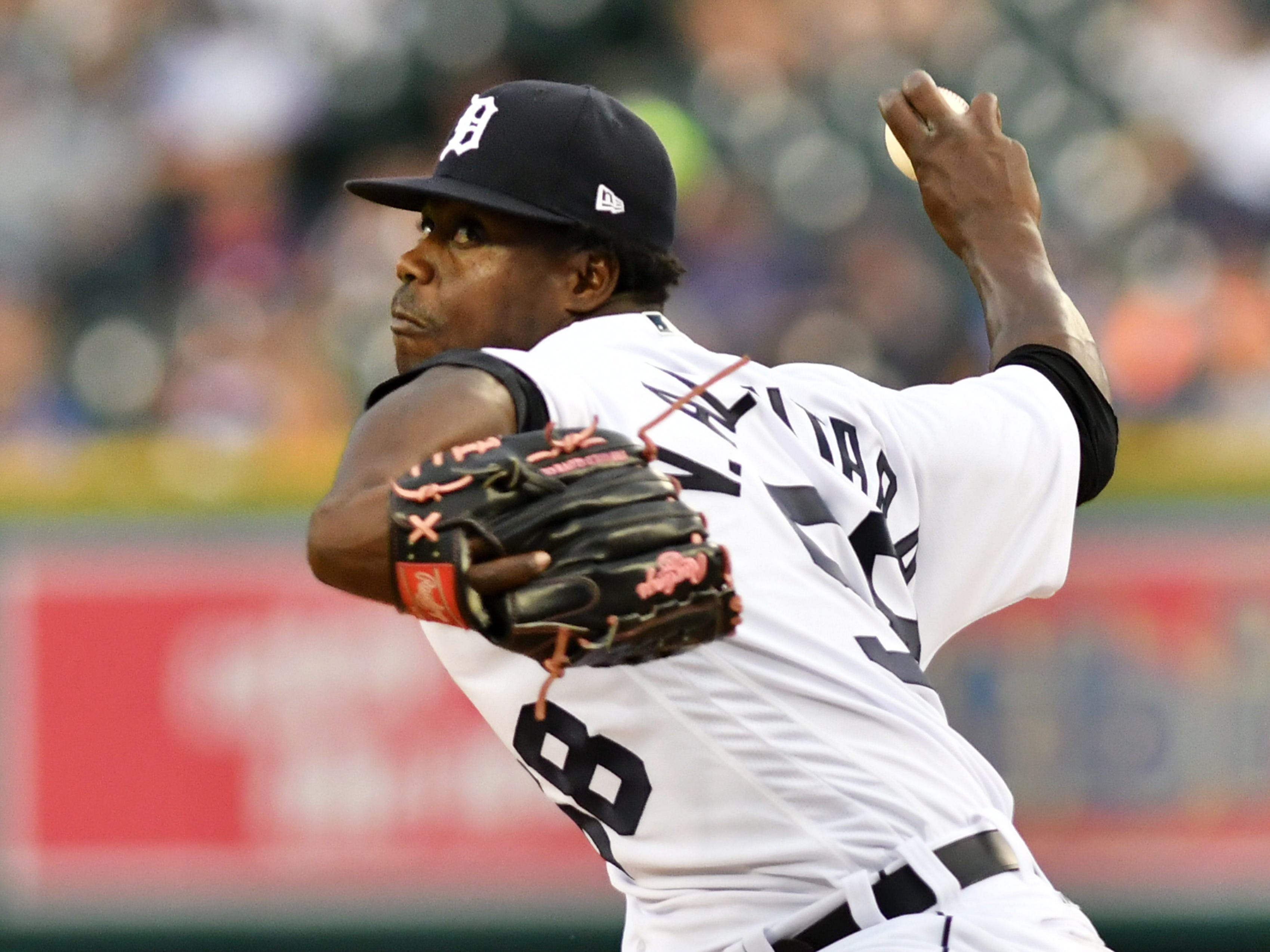 "RELIEVERS: Victor Alcantara (1-1, 2.40, 1.03): He was a ""something's-better-than-nothing"" return for Cameron Maybin in the winter of 2016. Turns out, the Tigers found a very useful, hard-throwing reliever. He allowed runs in just four of his 27 appearances, and four the eight runs he allowed came in one bad outing. The movement on his two-seam fastball is dynamic, and if he can keep it in the strike zone, he will be a fixture in this bullpen.  Mid-Term grade: N/A Second-half grade: B Final grade: B"