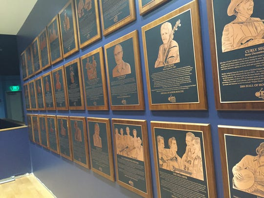 Legends of Bluegrass are immortalized in the Bluegrass Music Hall of Fame & Museum in Owensboro, Ky.