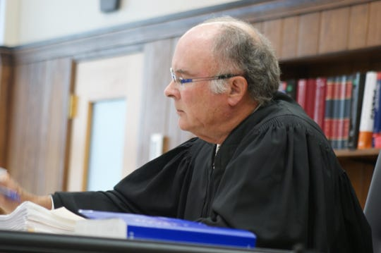 Sandusky County Common Pleas Court Judge John Dewey names potential jurors to be excused in the Daniel Myers homicide trial.