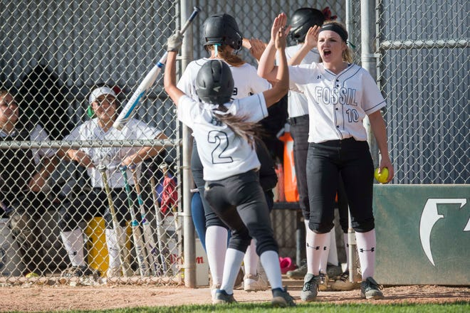 The Fossil Ridge and Rocky Mountain softball teams begin a tournament in Centennial on Friday.