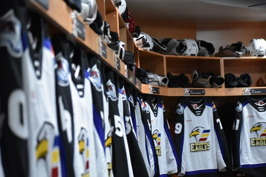 The Colorado Eagles host the final two games of the regular season on Friday and Saturday.