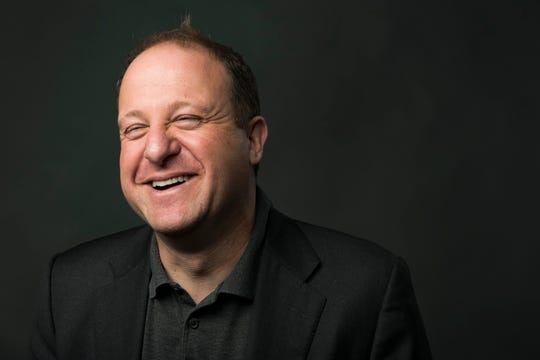 Democrat candidate for Colorado Governor Jared Polis poses for a photo in the Fort Collins Coloradoan newsroom on Wednesday, October 3, 2018.