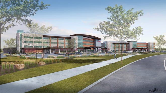 UCHealth will open its new Greeley hospital in early to mid-2019 at the intersection of 65th Avenue and U.S. Highway 34.