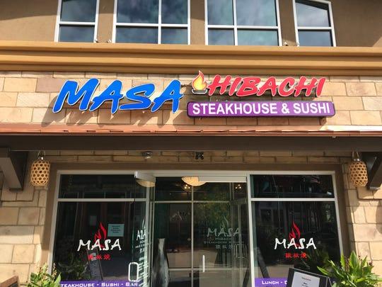 Masa Hibachi has opened at 2400 E. Harmony Road