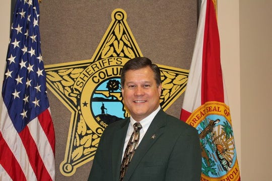 Columbia County Sheriff Mark Hunter, president of the Florida Sheriffs Association.