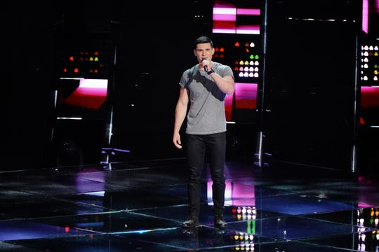 """Canterbury School graduate Wyatt Rivers appears Oct. 2 on """"The Voice"""" for the show's Blind Auditions."""