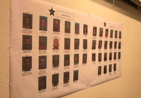Thirty-two people were arrested as part of Operation Fall Frenzy, conducted by the Lee County Sheriff's Office over the past two months.