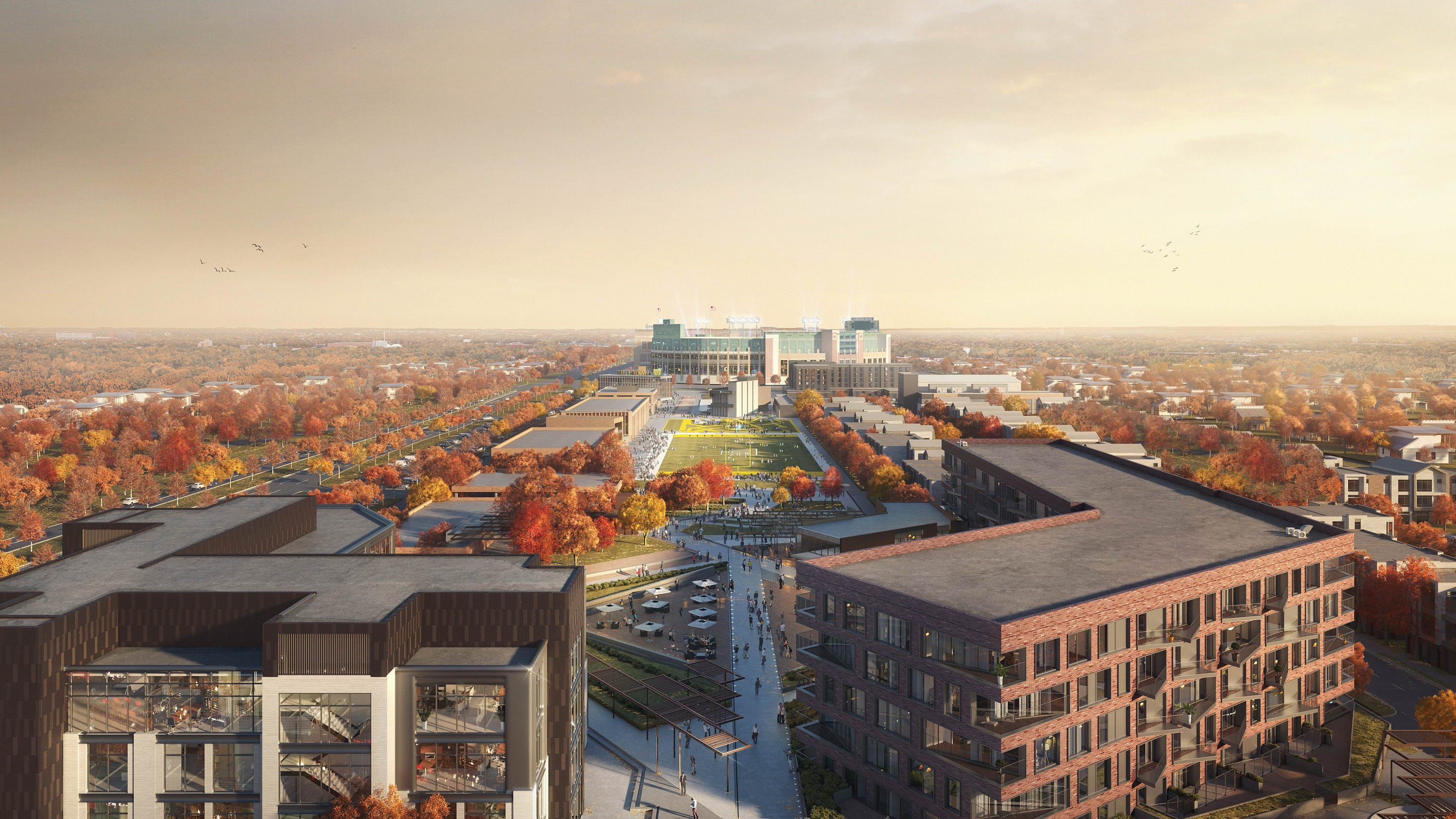 Green Bay Packers Release Plans For Titletown District