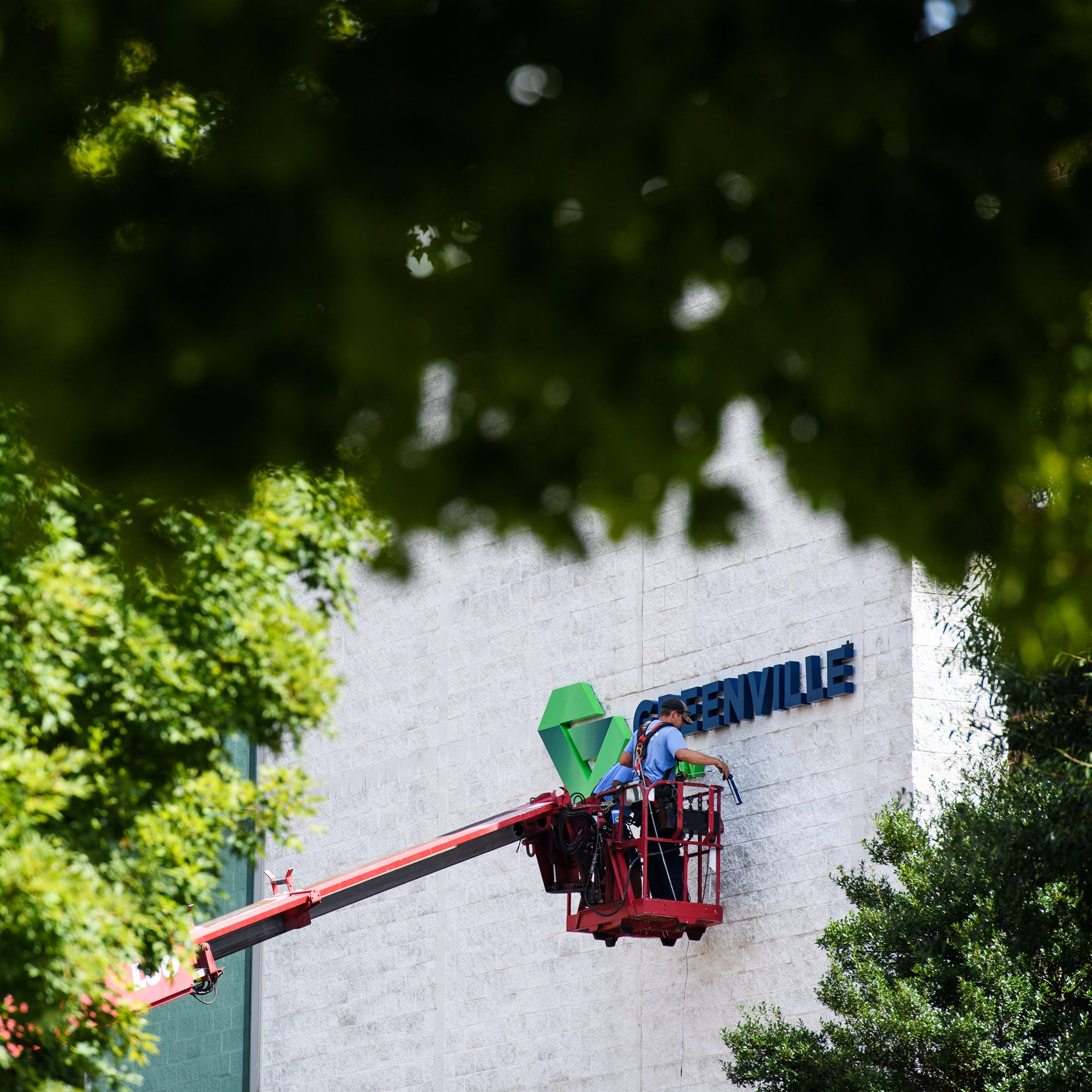 TD Convention Center rebranded to focus on city of Greenville