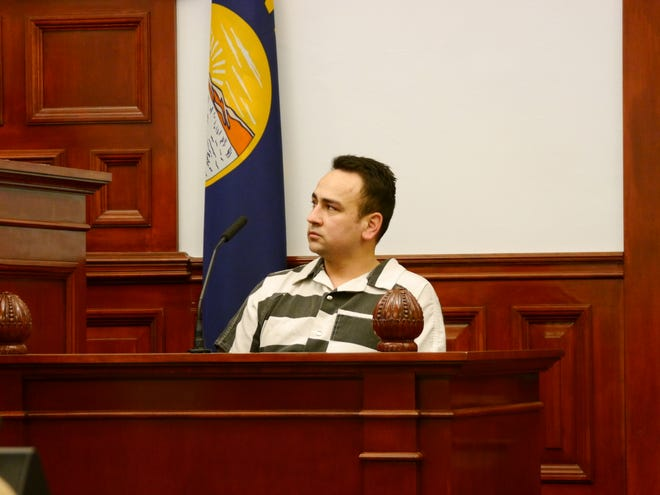 """Juan """"J.R."""" Rodriguez appeared in district court Wednesday to argue the his right to due process was violated in 2016."""